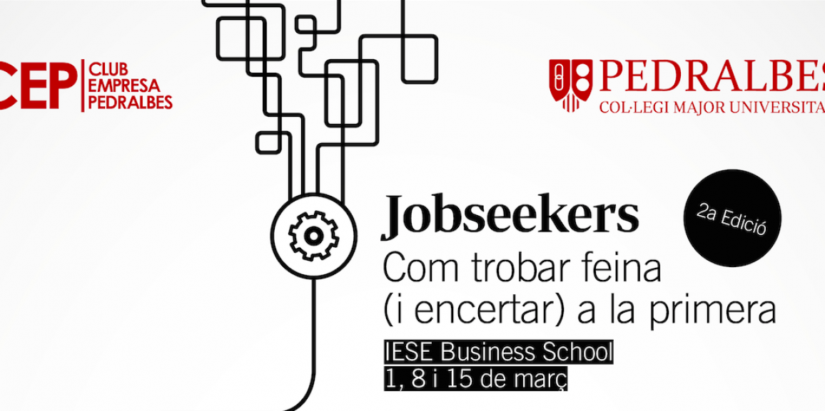 "2nd Edition Course ""Jobseekers"" – Club de Empresa Pedralbes"