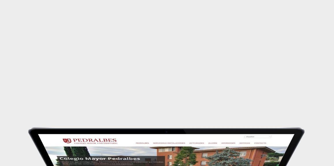 Benvinguts a la nova web del Col·legi Major Pedralbes