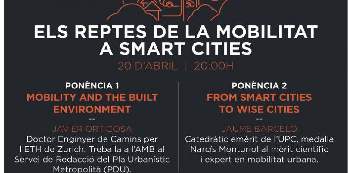 """Seminario """"Smart Cities"""" en el CMU Pedralbes"""
