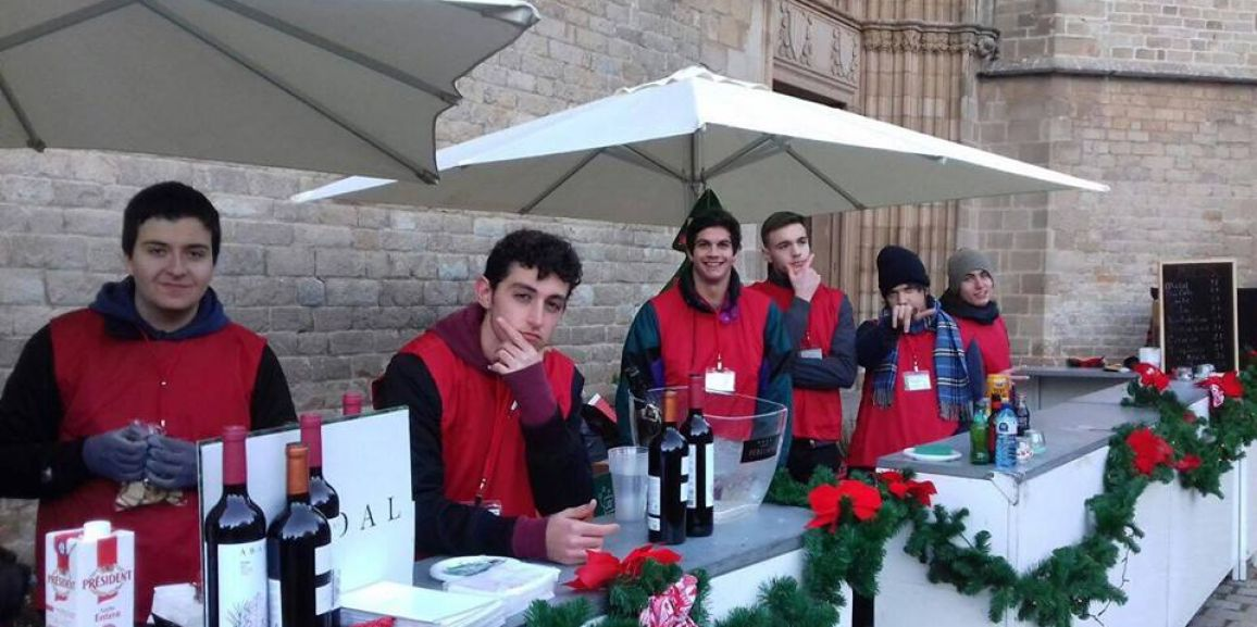 Volunteering in Mercat de Nadal