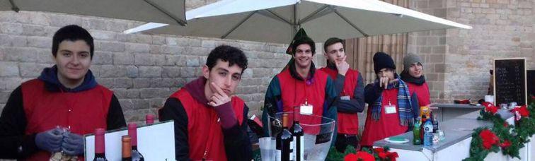 Voluntariado en el Mercat de Nadal