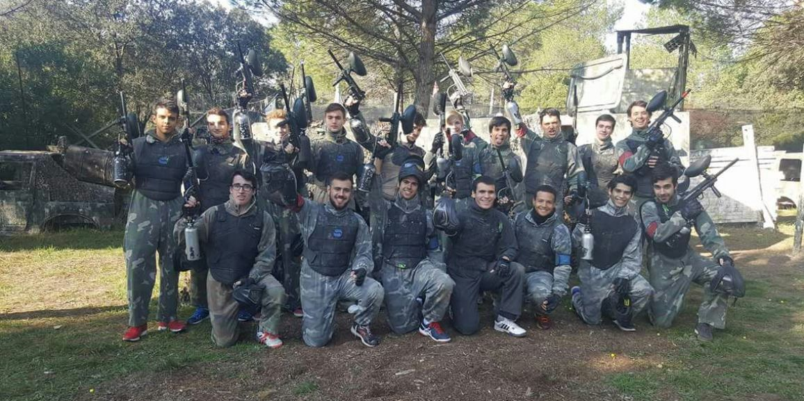 Jornada de Paintball
