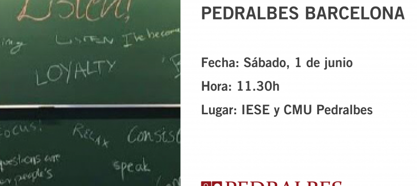 Ven a celebrar el XXXV Aniversario del Colegio Mayor Universitario Pedralbes